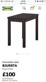 Table Ikea fold