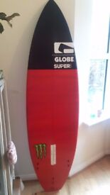 Surfboard - never used - SUPERbrand Siamese Palm Viper - 6 foot
