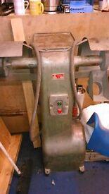 Buffalo Double head buffing wheel machine polishing grinding