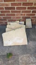 Broken slab bits
