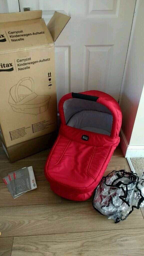 Steel Grey Britax Hard Carrycot Baby Products Parts