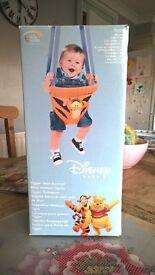 Disney tiger door jumper, easy assemble, machine washable,