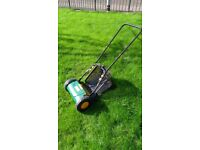 Manual Lawnmower, ideal for small lawns, used only twice (New£42)