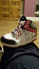 Girls one direction 1D trainers size 1