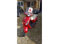 125 Sym Fiddle Retro style Scooter VGC low mileage