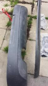 Vw golf parts, gti parts, rear bumper and front splitter