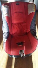 Britax First Class Plus Rearward/Forward Facing Group 0+/1 Car Seat - Chili Pepper