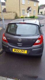 2012 Vauxhall Corsa 1.2L with full Vauxhall Service History
