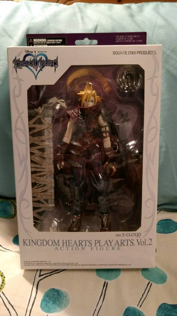 Cloud Strafe Action Figure (Kingdom Hearts Play Arts Vol 2, #5) Highly collectable!