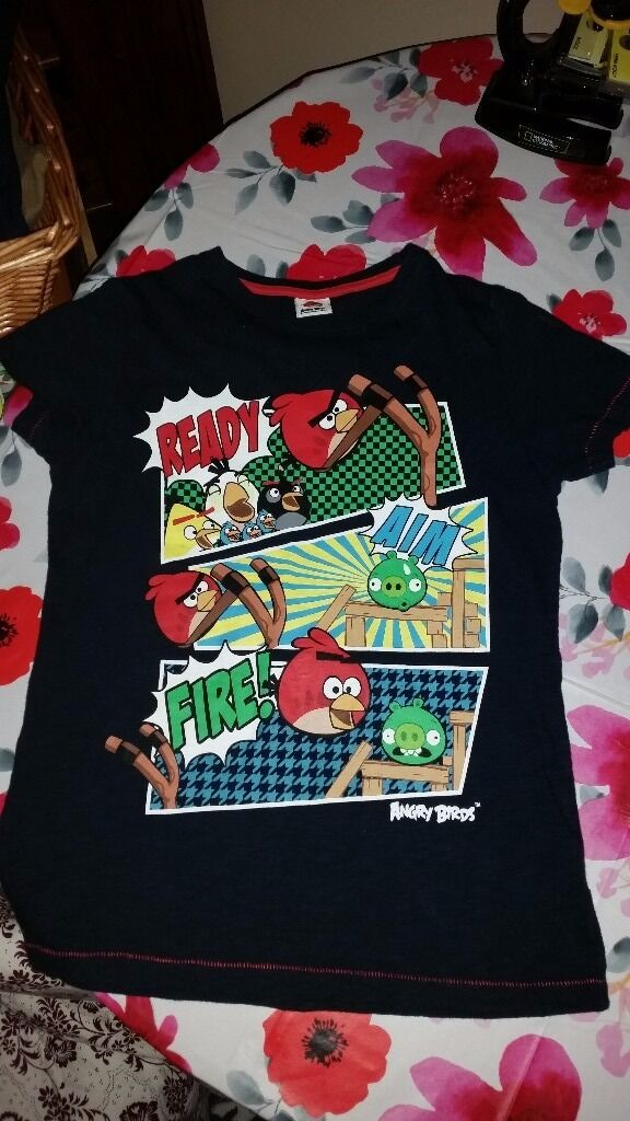 Children clothes boys Next Angry Birds T shirt age 10in Carlton, NottinghamshireGumtree - Next Angry Birds boys T shirt. Age 10. Only worn a couple of times. Very good condition