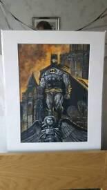 Marvel/DC artwork