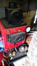 Kubola diesel boiler