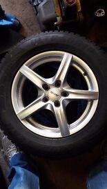 V.w.tiguan/audi q3 wheels and tyres.