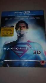 Man of steel 3d blu ray
