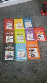 10 diary of a wimpy kid books