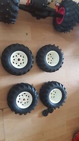 Rc car tamyia blackfoot wheels