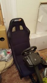 Gaming seat immaculate Logitech G29