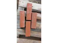 RED ENGINEERING BRICKS - approx 2250 FREE to collector