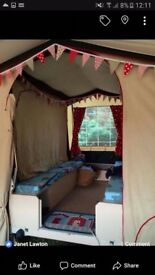 Conway deluxe trailer tent needs attention