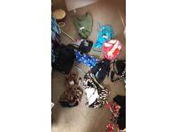 Large bundle of bikinis mainly size 16 plus