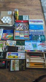 Loads of different art stuff