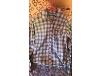 Women's Hollister shirts, hardly worn, size large £15 each or both for £20