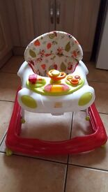 Baby walker with music & lights