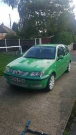2000 polo. Original green. Good stereo and alloys. Great runner.
