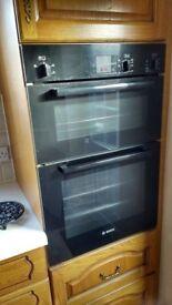 Double oven- Bosch