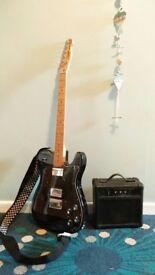 Guitar, telecaster fender squier custom