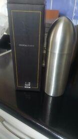Dunhill black cocktail shaker