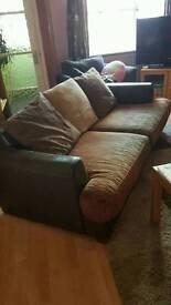 Free sofa, very comfy,