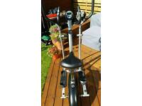 V-fit cycle/cross trainer