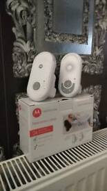 Motorola MBP8 Audio Baby Monitor