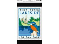 Holiday for sale at lakeside holiday park Chichester