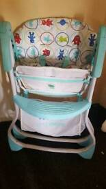Little monsters highchair