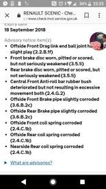 Spares or repairs renault scenic rx4 1.9 diesel