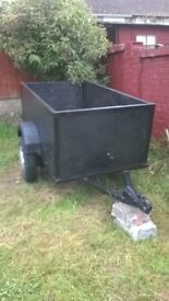 Good size trailer, ideal for DIY or Camping, 6 x 3