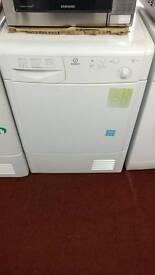 Indesit condenser dryer white