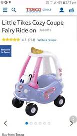 Little tikes fairy ride on