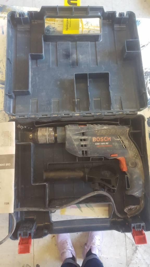 Bosch gsb 1600 RE hammer drill