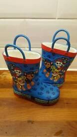 Paw Patrol Children's Size 5 Wellies *Brand New*