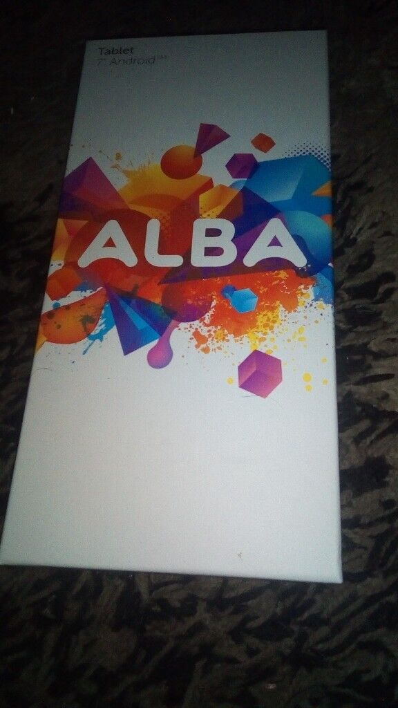 7 inch android tablet alba