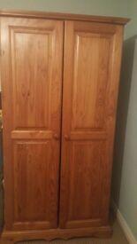 Wooden Wardrobe double door