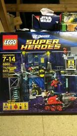 Lego DC 6860 boxed complete