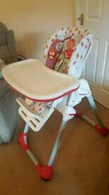 Chicco Polly Highchair - never used immaculate High Chair.