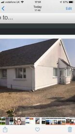 Semi detached bungalo for rent