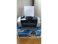 Epson Stylus C84 Colour Inkjet Printer - little used