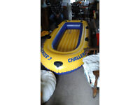 Rubber dinghy - inflatable boat