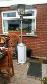 Large patio heater.